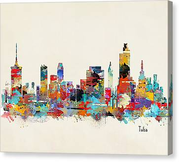 Tulsa Oklahoma Canvas Print