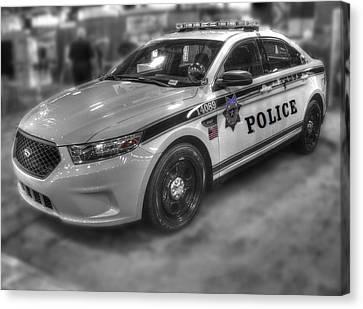 Tulsa Police At State Fair P1 Canvas Print