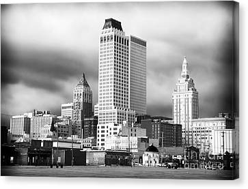 Tulsa Rising Canvas Print by John Rizzuto