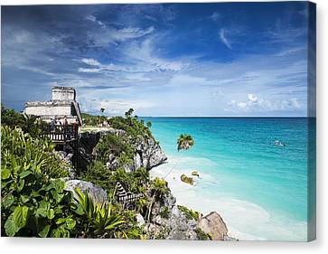 Tulum Canvas Print by Yuri Santin