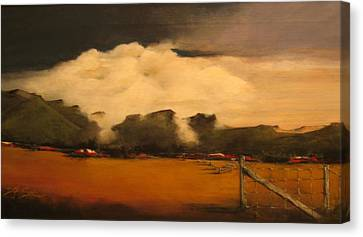 Tumbling Clouds Canvas Print
