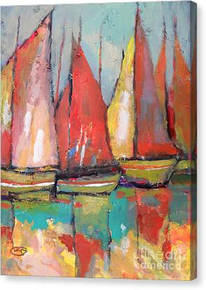 Tuna Boats Canvas Print