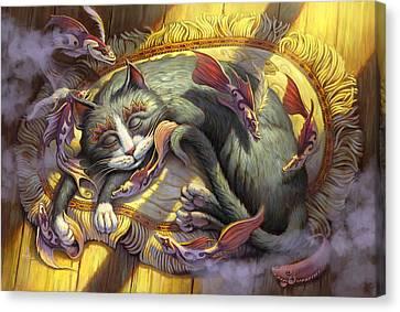 Canvas Print - Tuna Dreams by Jeff Haynie