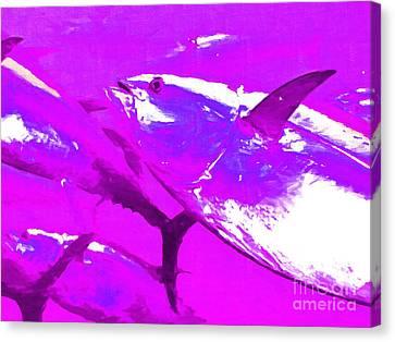 Tuna Fish M168 Canvas Print