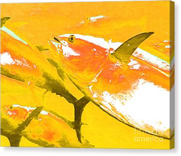 Tuna Fish M54 Canvas Print by Wingsdomain Art and Photography