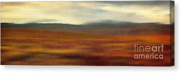Tundra Autumn Melody Canvas Print
