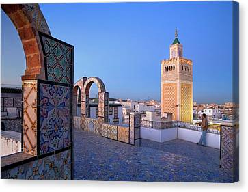 Africa Ceramics Canvas Print - Tunis by Lucas Vallecillos - Vwpics