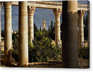 Jem Fine Arts Canvas Print - Tunisia. El Djem. Archeological by Everett
