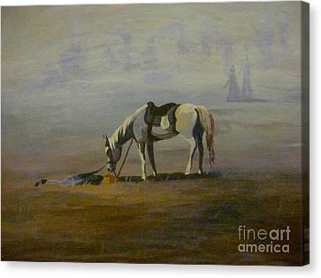 Tunnel Hill's Loyalty Canvas Print by Gretchen Allen