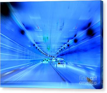 Tunnel Tension Canvas Print by Ed Weidman