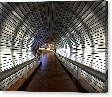 Tunneling In New Haven Canvas Print