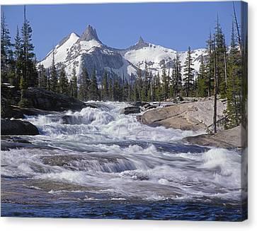 6m6539-tuolumne River  Canvas Print