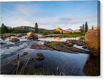 Tuolumne River Canvas Print