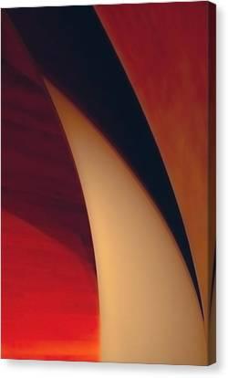 Turbine Canvas Print by Peter Benkmann