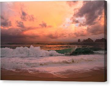 Canvas Print featuring the photograph Turbulence  by Eti Reid