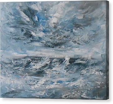Turbulence Canvas Print by Jane  See