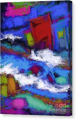 Turbulence Canvas Print by Keith Mills