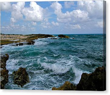 Canvas Print featuring the photograph Turbulence by Paul Foutz