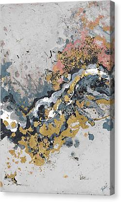 Turbulence Vertical Canvas Print by Patricia Pinto