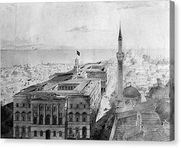 Turkey Istanbul, 1852 Canvas Print by Granger