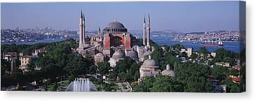 Turkey, Istanbul, Hagia Sophia Canvas Print by Panoramic Images