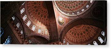 Turkey, Istanbul, Suleyman Mosque Canvas Print by Panoramic Images