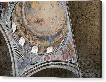 Turkey, Trabzon 13th Century St Sophia Canvas Print by Cindy Miller Hopkins