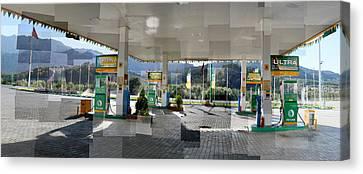 Turkish Gas Canvas Print