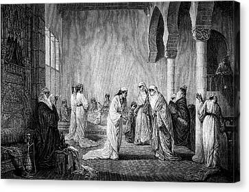 Turkish Harem Canvas Print by Collection Abecasis