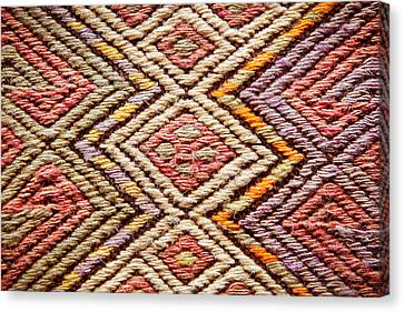 Covering Up Canvas Print - Turkish Rug by Tom Gowanlock
