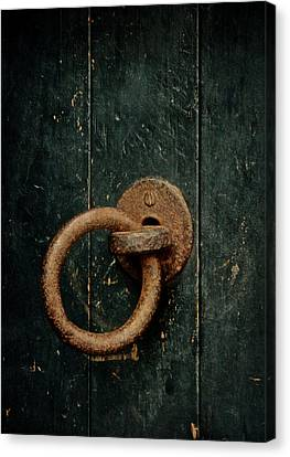 Turn And Enter Canvas Print by Odd Jeppesen
