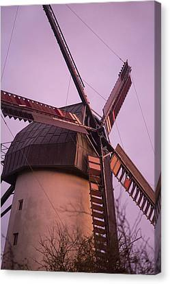 Old Mill Scenes Canvas Print - Turn The Page by Betsy Knapp