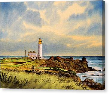 Turnberry Golf Course 9th Tee Canvas Print