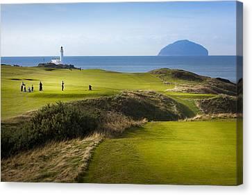 Turnberry Golf Course Prints Canvas Print