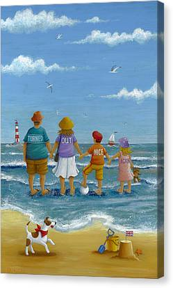 Turned Out Nice Again Canvas Print by Peter Adderley