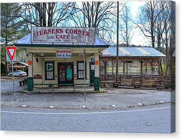 Turners Corner Canvas Print by Bob Jackson