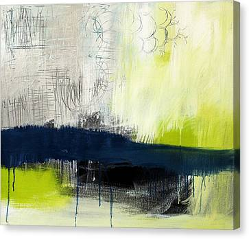 Loft Canvas Print - Turning Point - Contemporary Abstract Painting by Linda Woods
