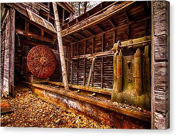 Turning Shed Redstone Quarry Conway Nh Canvas Print