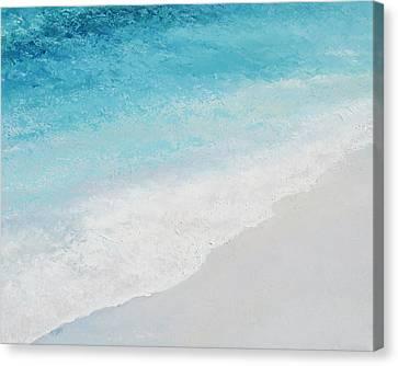 Turquoise Ocean 4 Canvas Print