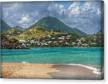 Canvas Print featuring the photograph Turquoise Paradise by Hanny Heim