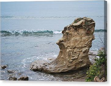 Turquoise Sea Canvas Print by George Katechis
