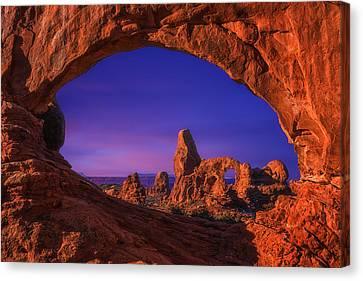 Darren Canvas Print - Turret Arch Sunrise by Darren  White