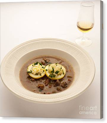 Turtle Soup Canvas Print by New  Orleans Food
