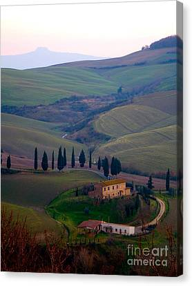 Tuscan Countryside Canvas Print by Tim Holt
