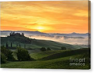 Tuscan Countryside Canvas Print by Yuri Santin