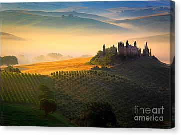 Tuscan Dawn Canvas Print by Inge Johnsson