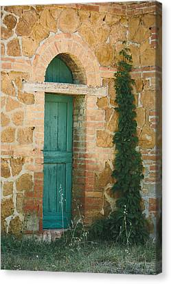 Tuscan Door Canvas Print by Clint Brewer