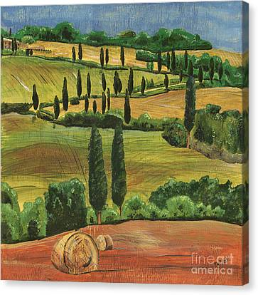 Tuscan Canvas Print - Tuscan Dream 1 by Debbie DeWitt