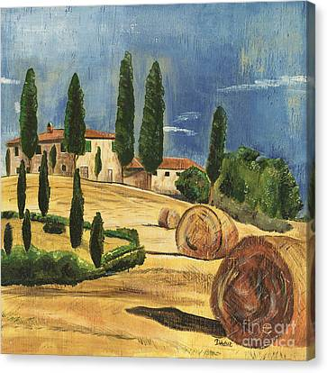 Tuscan Dream 2 Canvas Print by Debbie DeWitt