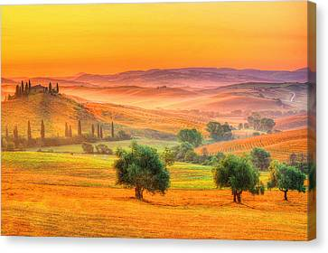 Tuscan Dream Canvas Print by Midori Chan